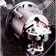 工場扇 大型扇風機 業務用扇風機の全閉式モーター