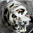 工場扇 大型扇風機 業務用扇風機の開放式モーター