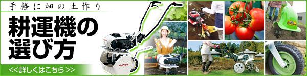 家庭菜園を始める方へおすすめな耕運機の選び方